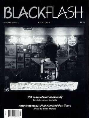 BlackFlash Magazine, Issue 10.3