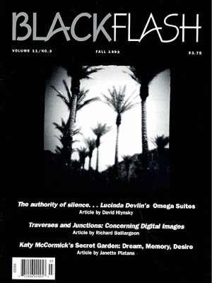 BlackFlash Magazine, Issue 11.3