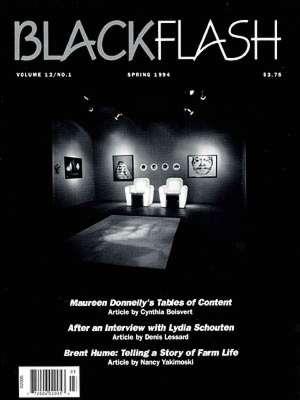 BlackFlash Magazine, Issue 12.1