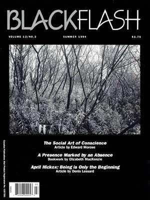 BlackFlash Magazine, Issue 12.2
