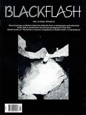 BlackFlash Magazine, Issue 12.3