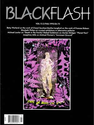 BlackFlash Magazine, Issue 13.3
