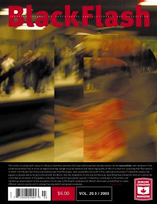 BlackFlash Magazine, Issue 20.3