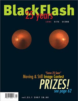 BlackFlash Magazine, Issue 25.1