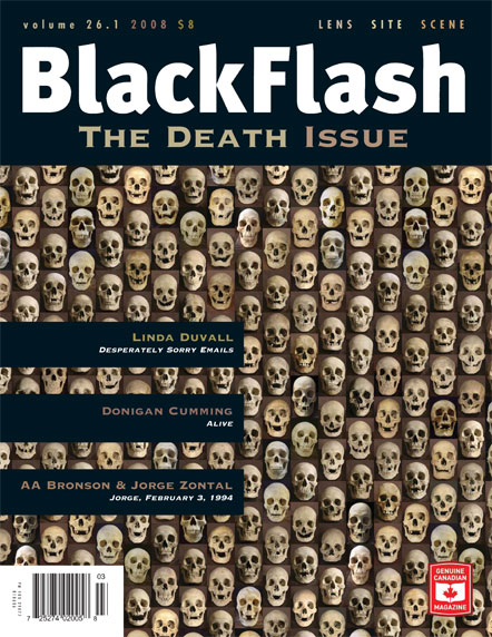 BlackFlash Magazine, Issue 26.1