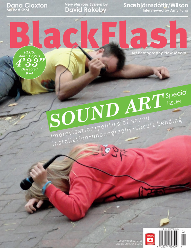 BlackFlash Magazine, Issue 29.2