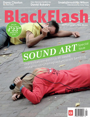 BlackFlash Magazine, Issue 29.2