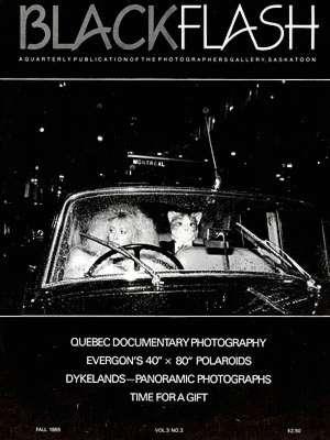 BlackFlash Magazine, Issue 3.3