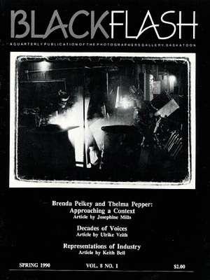 BlackFlash Magazine, Issue 8.1