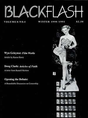 BlackFlash Magazine, Issue 8.4
