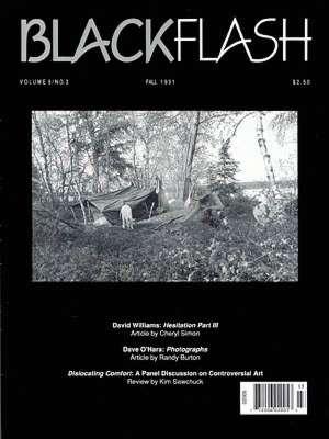 BlackFlash Magazine, Issue 9.3