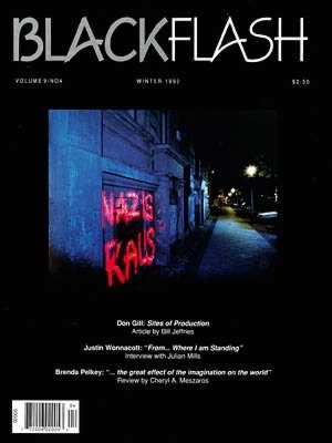 BlackFlash Magazine, Issue 9.4